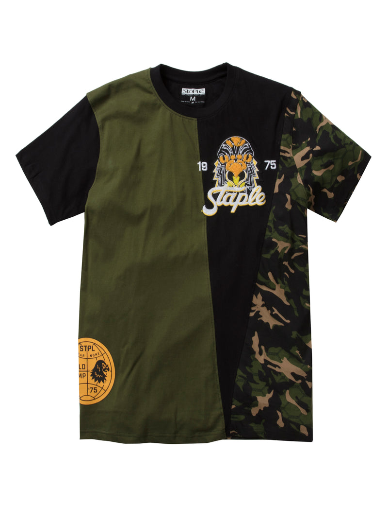 Napalm Blocked Tee - Tee | Staple Pigeon