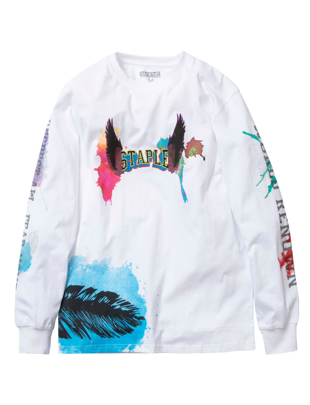 Waterbrush Logo L/S Tee - Tee | Staple Pigeon