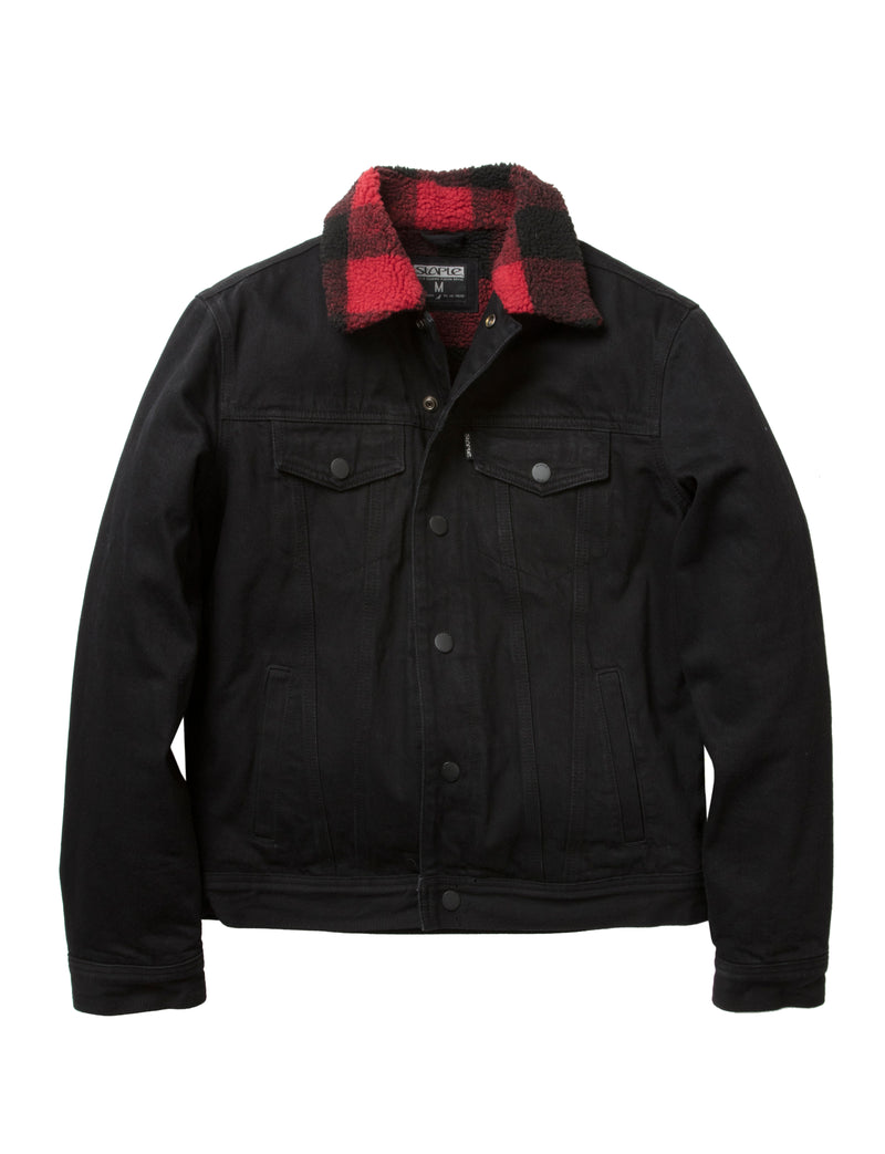 Sherpa Denim Jacket - Jacket | Staple Pigeon