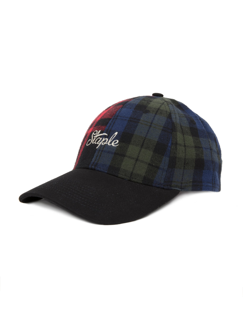 Flannel Dad Cap - Hat | Staple Pigeon