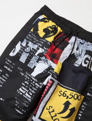 Caution Nylon Pants - Pants | Staple Pigeon