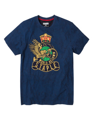 Python Crest Tee Embroidered Tee - Tee | Staple Pigeon