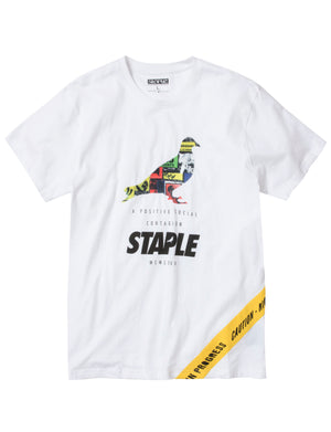 Caution Pigeon Tee - Tee | Staple Pigeon