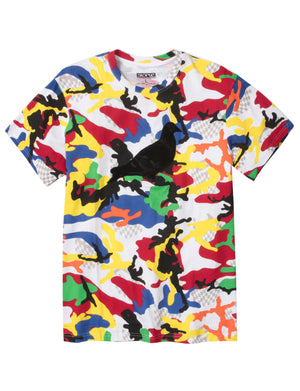 Lux Camo Allover Tee - Tee | Staple Pigeon