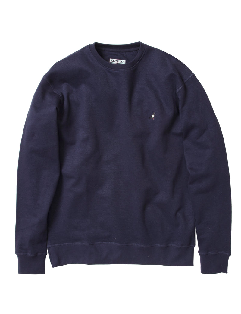 Pigeon Embroidered Crew - Sweatshirt | Staple Pigeon