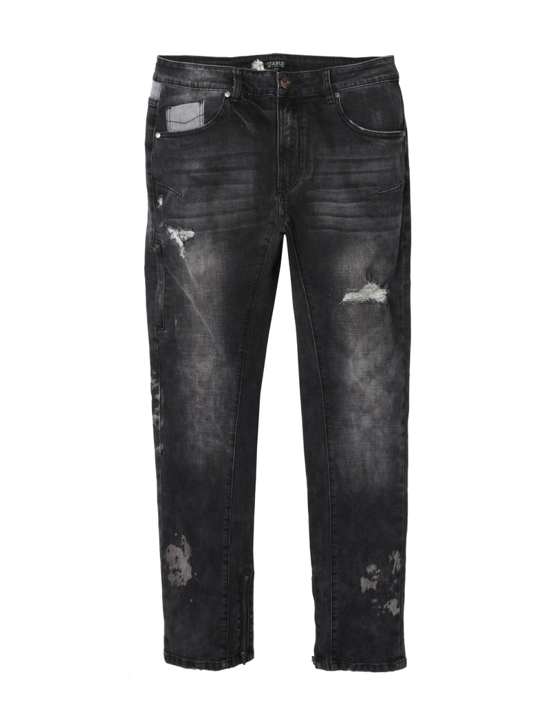 Distressed Denim - Jeans | Staple Pigeon
