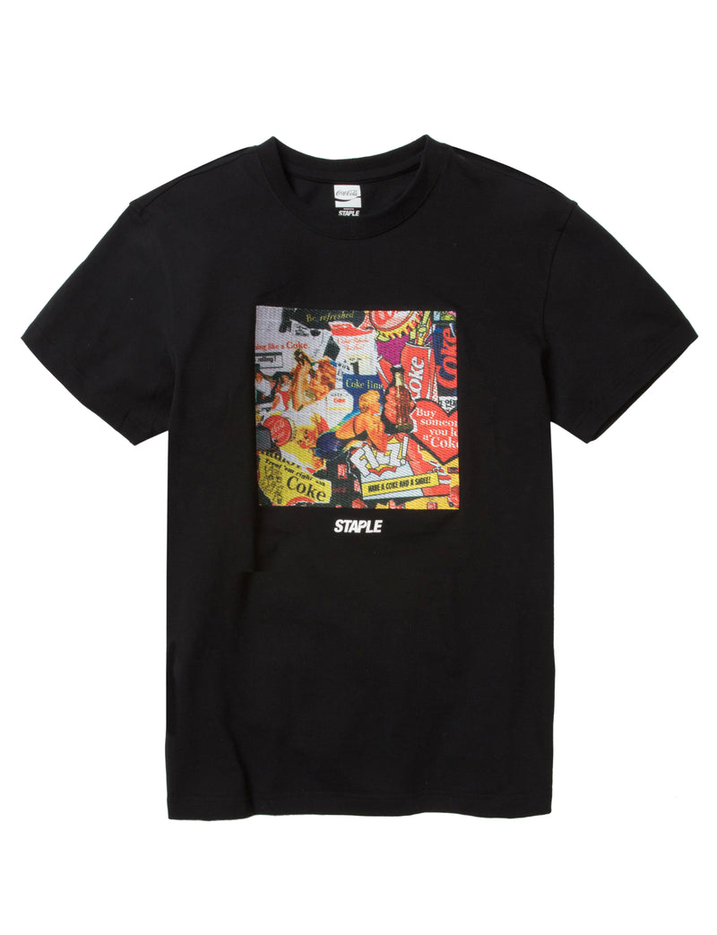 Coke Collage Tee - Tee | Staple Pigeon