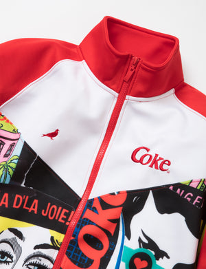 Coke Collage Track Jacket - Jacket | Staple Pigeon