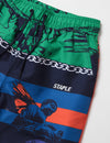 Icons All Over Print Nylon Short - Shorts | Staple Pigeon