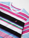 Multi Stripe Tee - Tee | Staple Pigeon