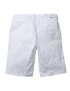 Allover Embroidered Twill Shorts - Shorts | Staple Pigeon