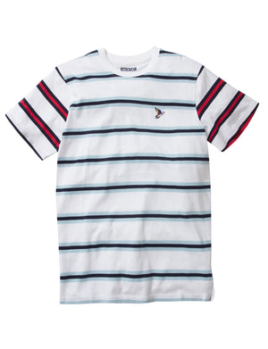 Abstract Striped Tee - Tee | Staple Pigeon