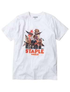 Staple World Poster Tee - Tee | Staple Pigeon
