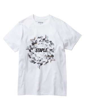 Circle Flock Tee - Tee | Staple Pigeon