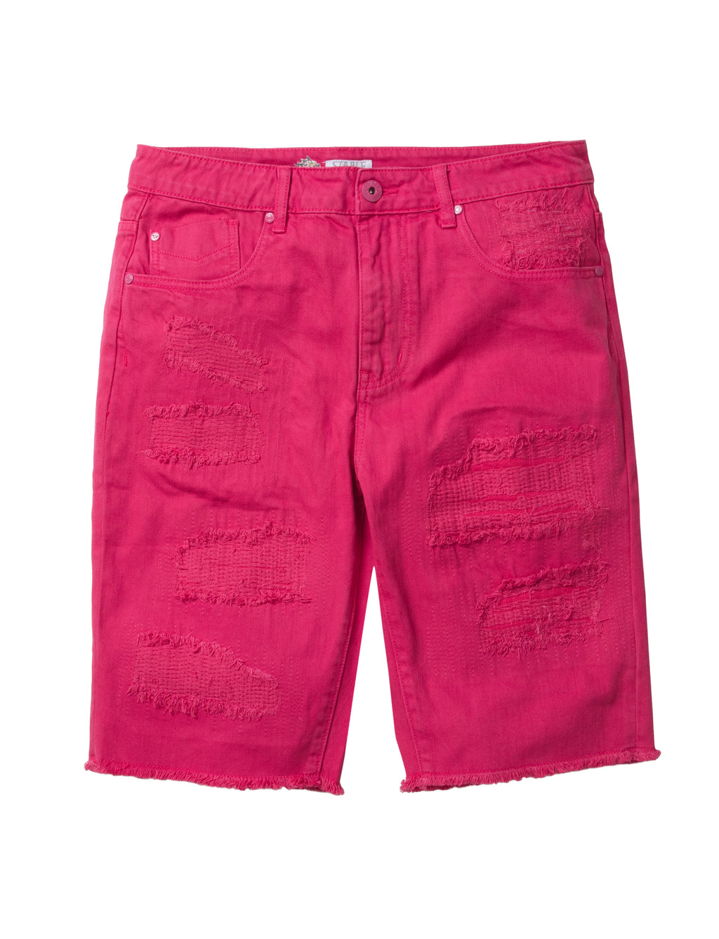Ripped Denim Shorts - Shorts | Staple Pigeon