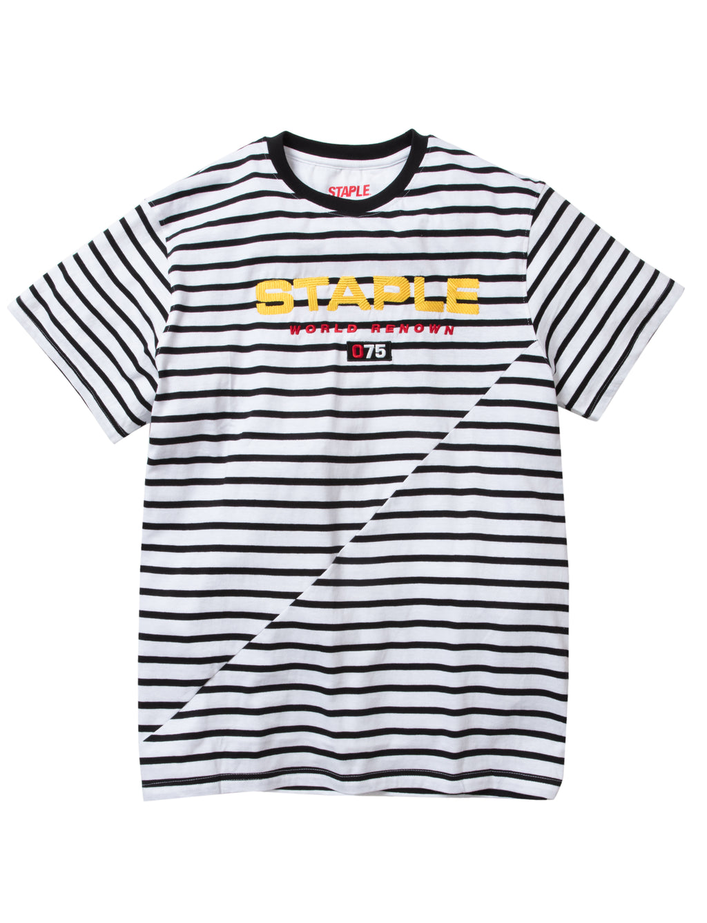 Off Stripe Tee - Tee | Staple Pigeon