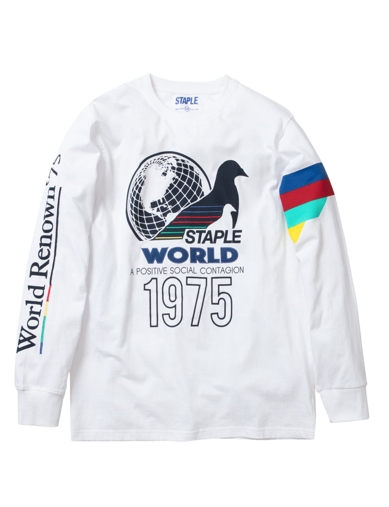 Grand Prix World L/S Tee - Tee | Staple Pigeon