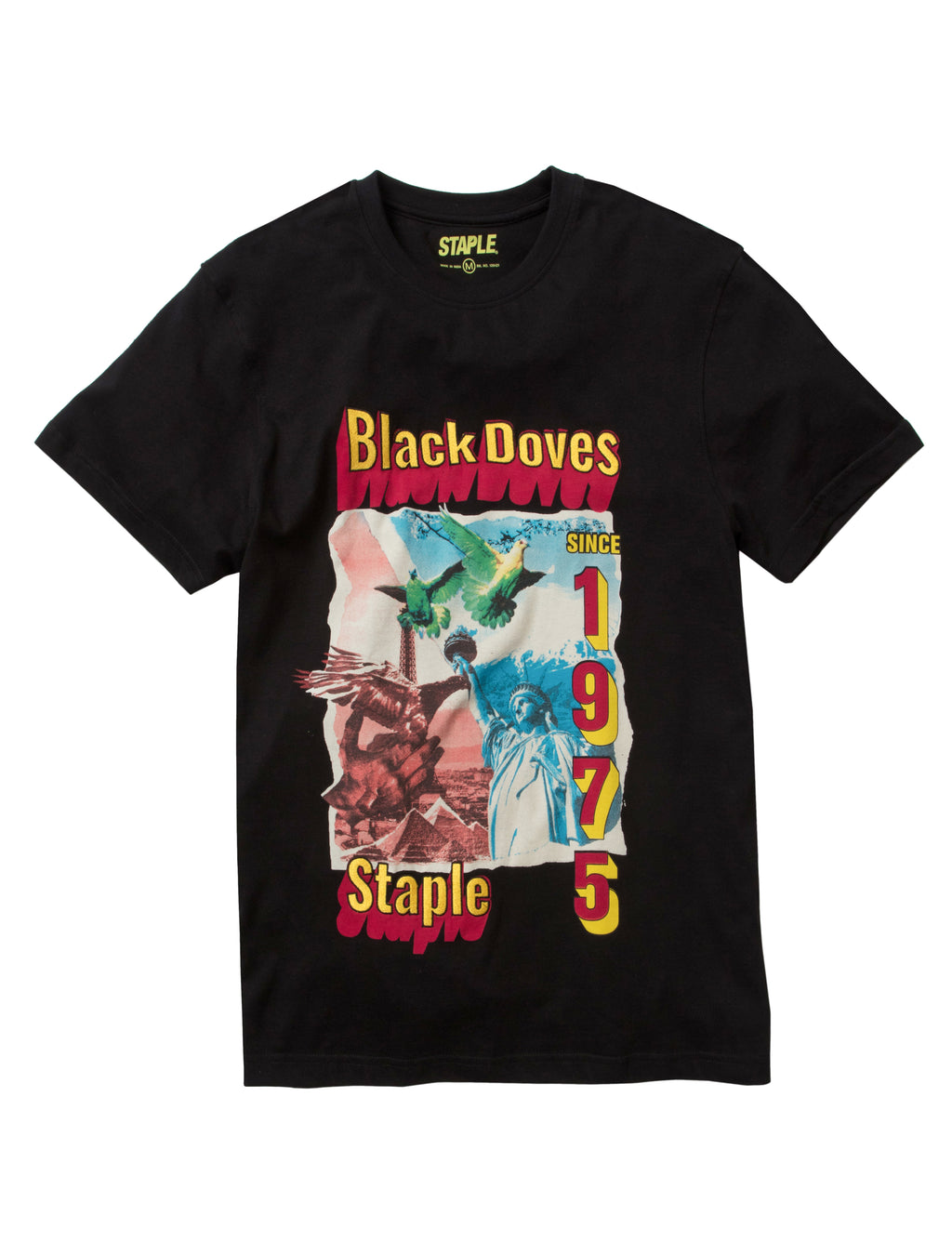Black Doves 1975 Tee - Tee | Staple Pigeon