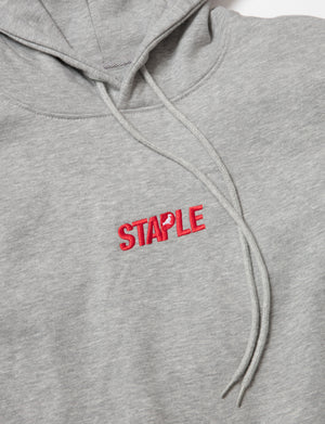 Embroidered Logo Hoodie - Hoodie | Staple Pigeon