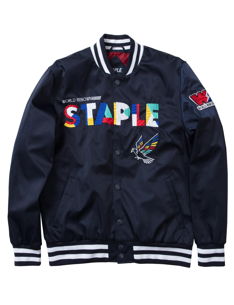 Circuit Baseball Jacket - Jacket | Staple Pigeon