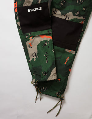 Ripstop Camo Nylon Pant - Pants | Staple Pigeon