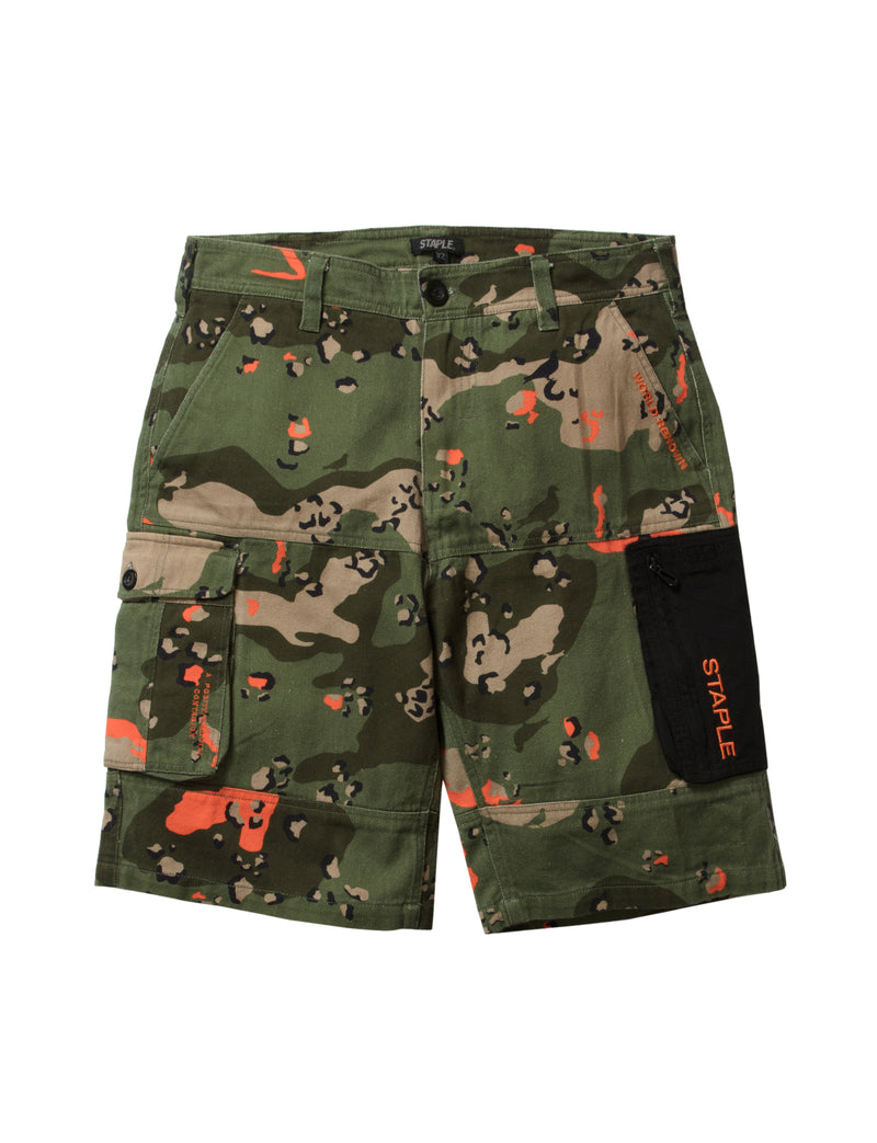 Ripstop Camo Twill Short - Pants | Staple Pigeon