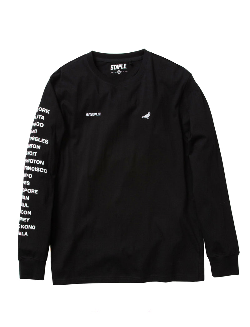 City L/S Tee - Tee | Staple Pigeon