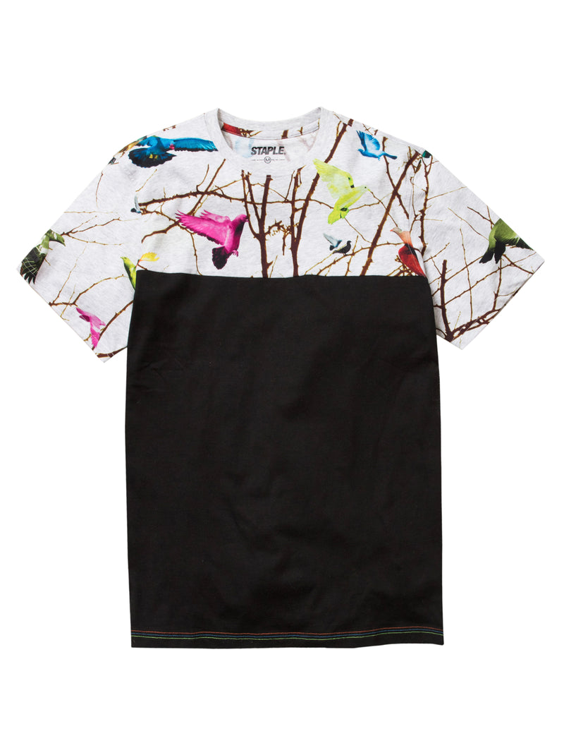 Foliage Block Tee - Tee | Staple Pigeon