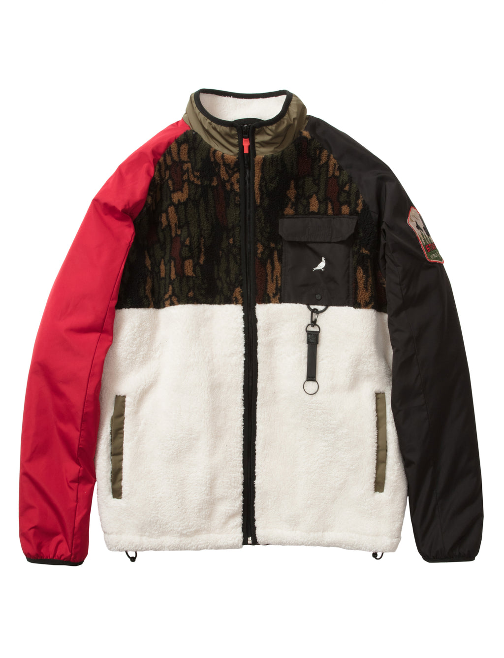 Outdoor Camo Shear Jacket - Jacket | Staple Pigeon