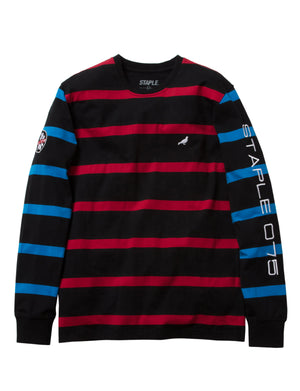 Ski Stripe L/S Knit - Tee | Staple Pigeon
