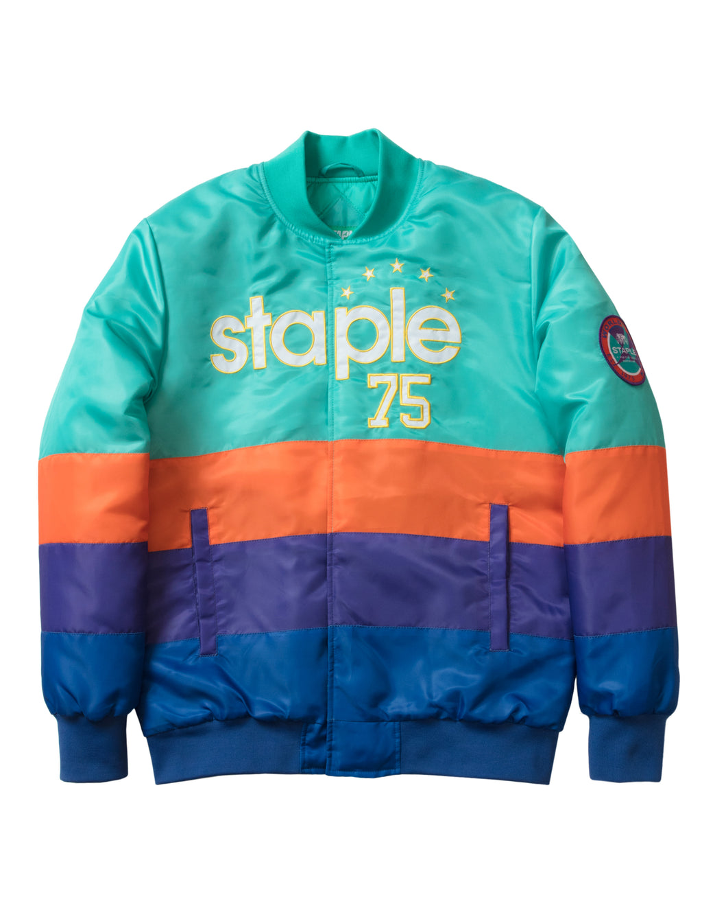 Takeover Baseball Jacket - Jacket | Staple Pigeon