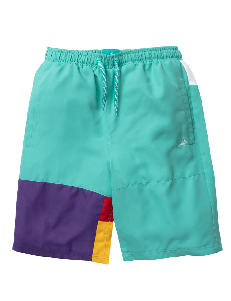 World Block Nylon Short - Shorts | Staple Pigeon