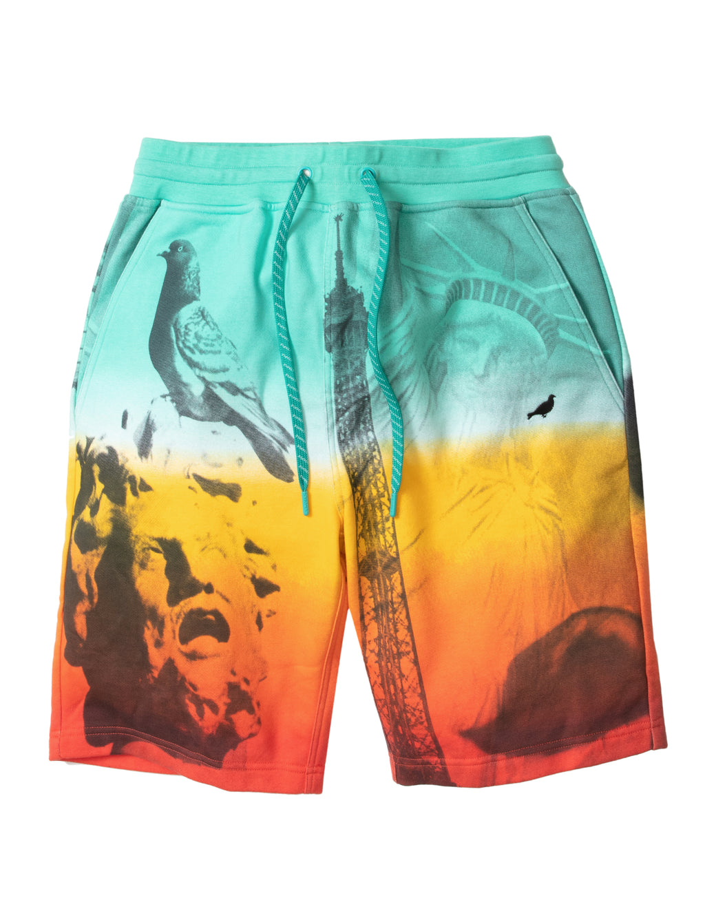 World Photo Sweatshort - Shorts | Staple Pigeon