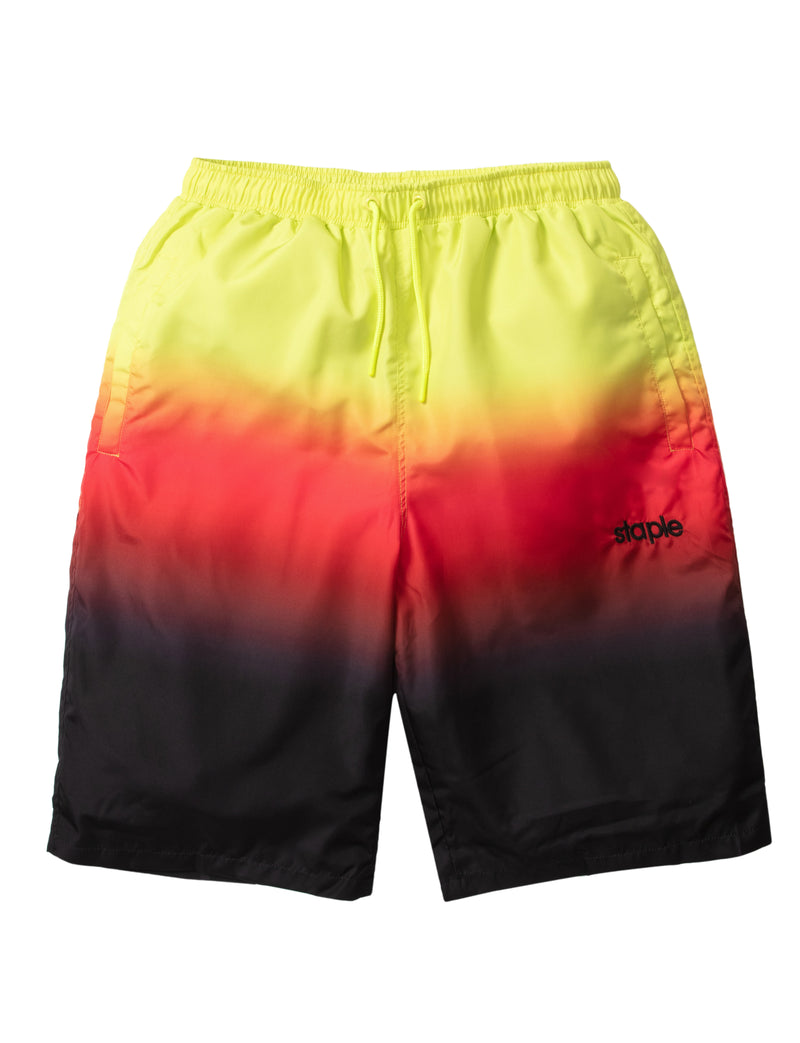 Race Fade Nylon Shorts - Shorts | Staple Pigeon