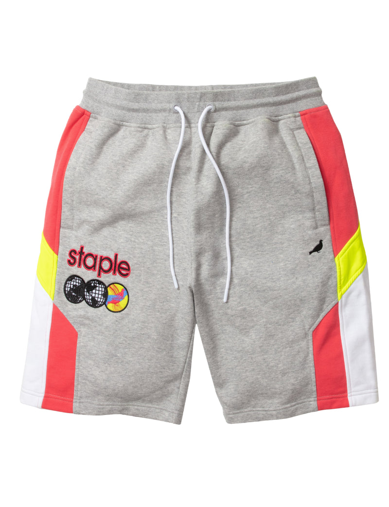 Sideline Block Sweatshort - Shorts | Staple Pigeon