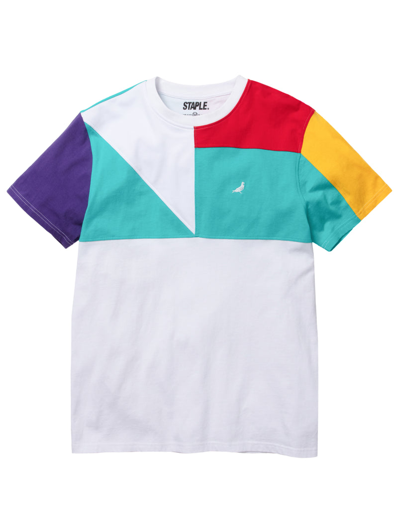 World Block Mesh Tee - Tee | Staple Pigeon