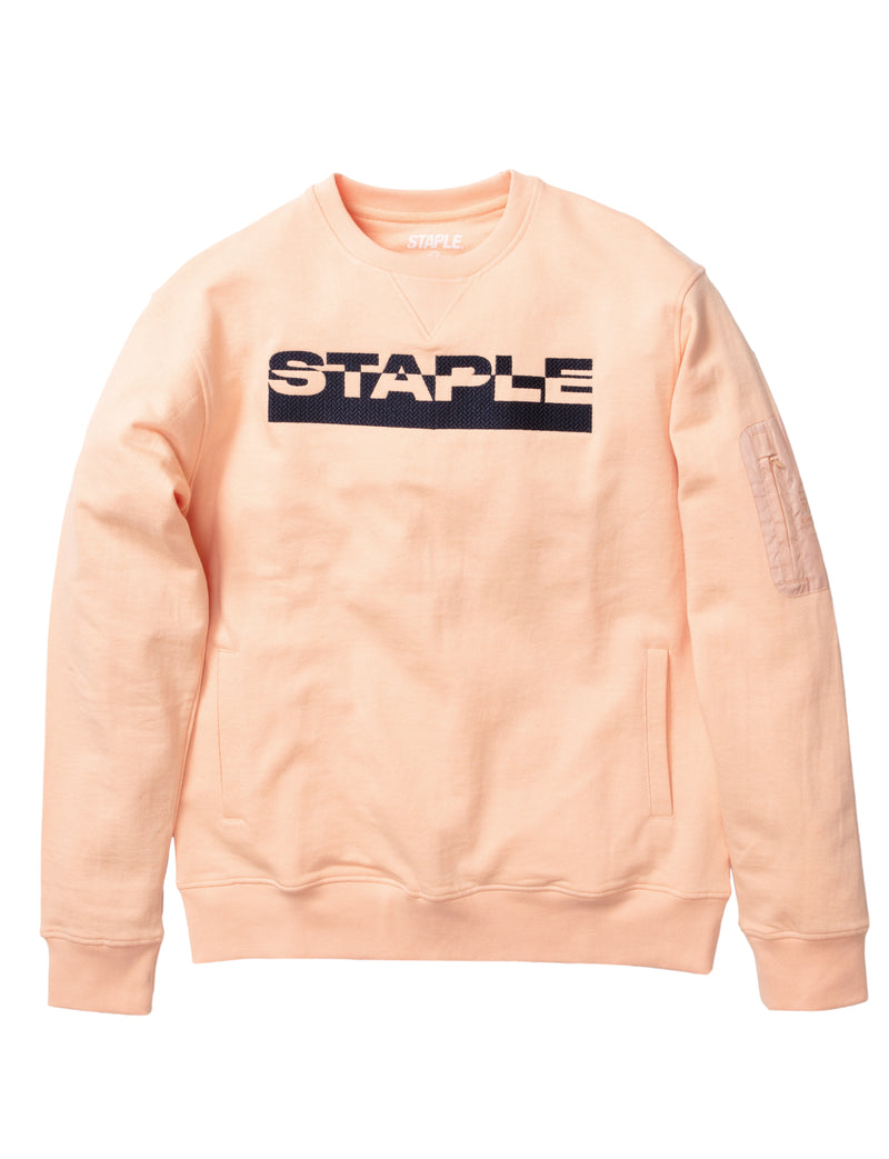 Block Logo Crewneck - Sweatshirt | Staple Pigeon