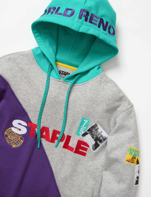 World Collage Graphic Hoodie - Pullover | Staple Pigeon