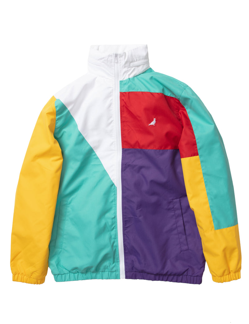 World Block Nylon Jacket - Jacket | Staple Pigeon