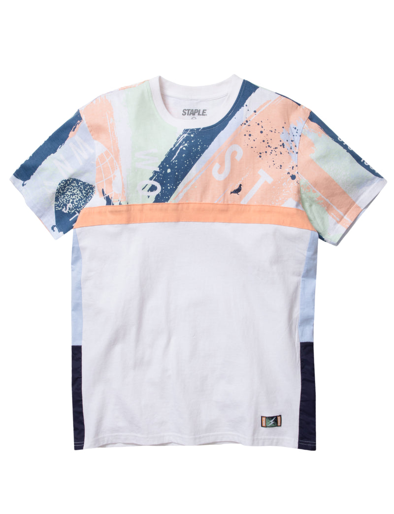 World Paint Pieced Tee - Tee | Staple Pigeon