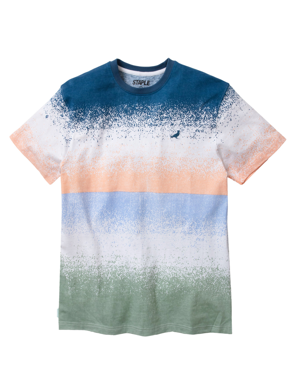 Spray Stripe Tee - Tee | Staple Pigeon