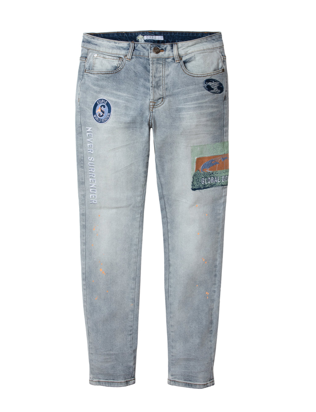 Spray Denim Pantss - Jeans | Staple Pigeon