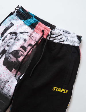 Posterized Sweatshorts - Shorts | Staple Pigeon