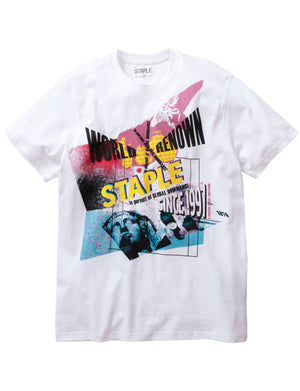 Posterized Graphic Tee - Tee | Staple Pigeon