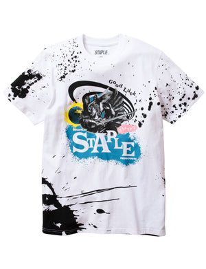 World Is Yours Splatter Tee - Tee | Staple Pigeon