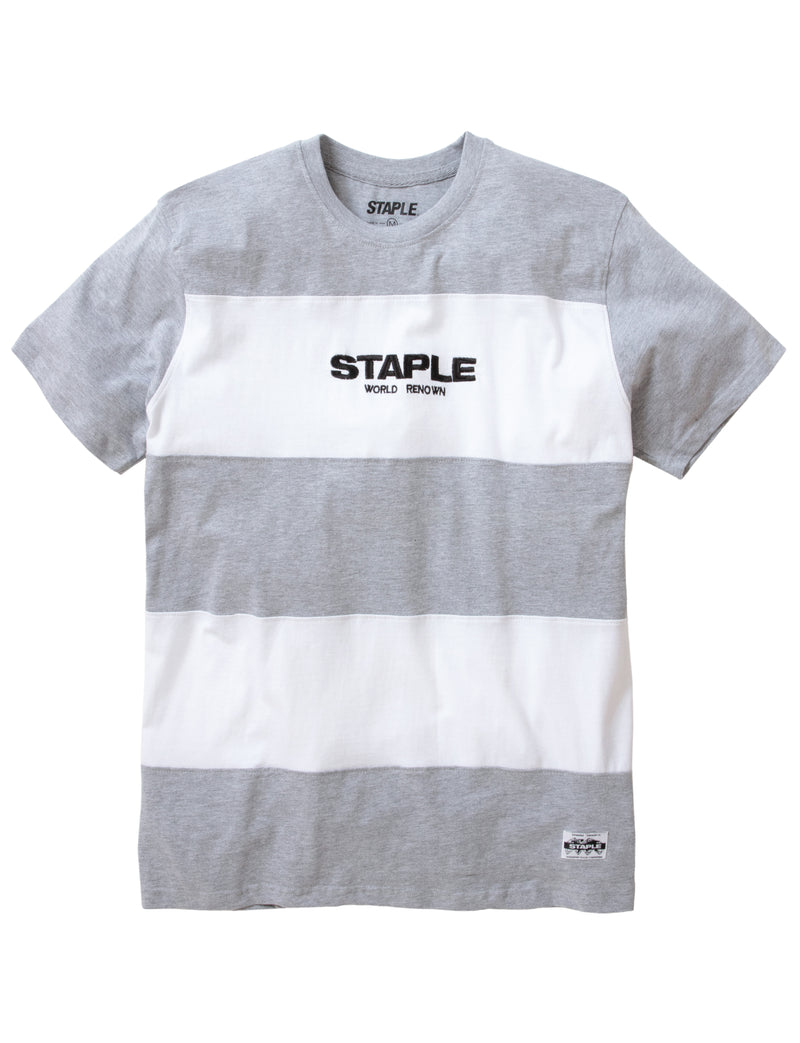 Block Stripe Logo Tee - Tee | Staple Pigeon