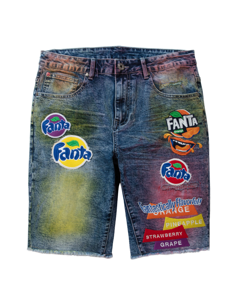 Staple x Fanta™ Denim Shorts - Shorts | Staple Pigeon