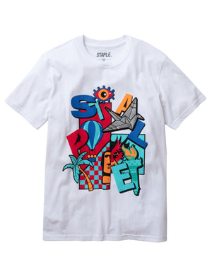 World Play Icons Tee - Tee | Staple Pigeon