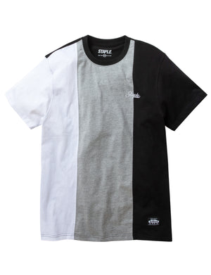Pieced Vertical Tee - Tee | Staple Pigeon