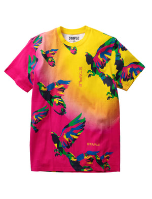 Prism Pigeon All Over Print Tee - Tee | Staple Pigeon
